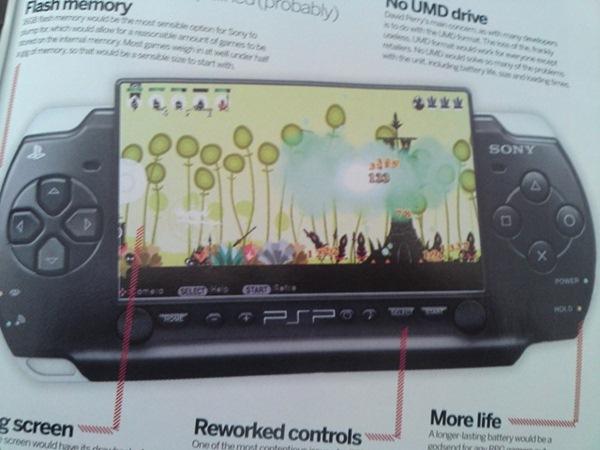 PSP 2 saldrá en 2011, las compañías ya han recibido los kits de desarrollo
