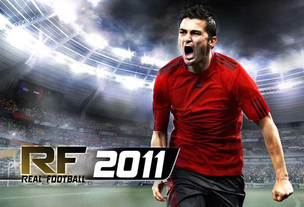 Real Football 2011, David Villa presenta Real Football 2011 para iPhone y iPod Touch