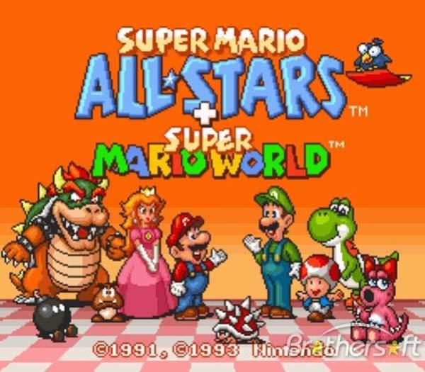 Super Mario All Stars, Nintendo sacará una recopilación de juegos de Mario