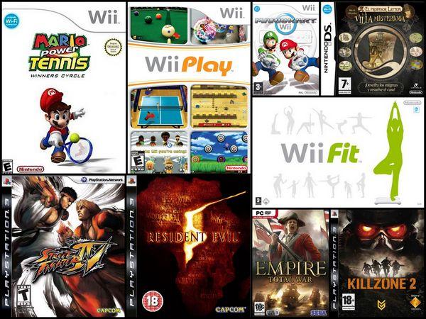 aDeSe publica la lista de los videojuegos más vendidos en 2009