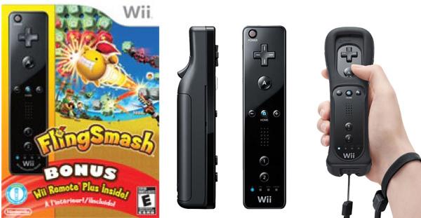 Wii Remote Plus, Wii Remote con Motion Plus de serie