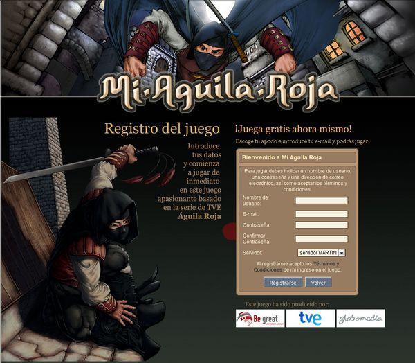 íguila Roja, el juego de Be Great dedicado a la serie de TVE íguila Roja triunfa en Internet