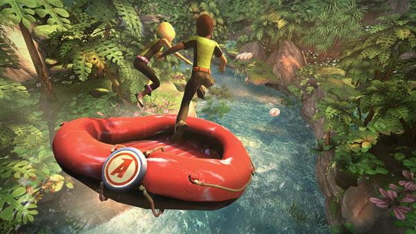 Kinect Adventures, minijuegos y diversión familiar en un juego que obtendremos al comprar Kinect