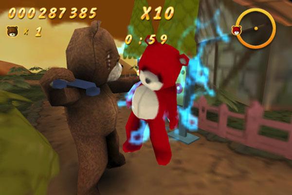Naughty Bear, el oso de peluche más gamberro llega también a iPhone