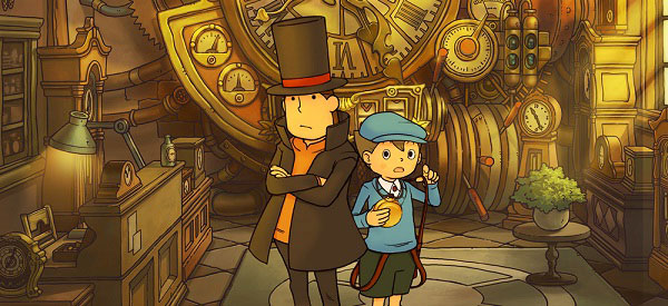 El Profesor Layton y El Futuro Perdido, sale a la venta una nueva entrega del juego de acertijos