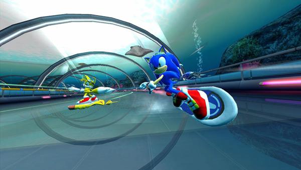 Sonic Free Riders, llega el primer vídeo con imágenes del juego para Kinect del erizo azul