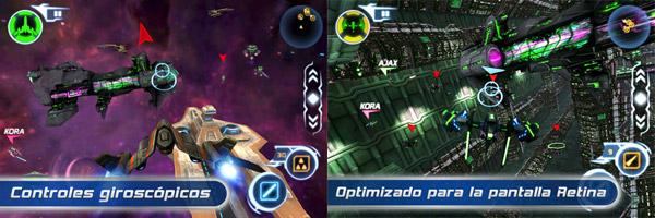 Star Battalion, combates estelares llenos de acción, en este juego para iPhone