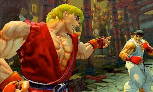 Super Street Fighter IV 3D, el juego usará el control táctil de la nueva Nintendo 3DS