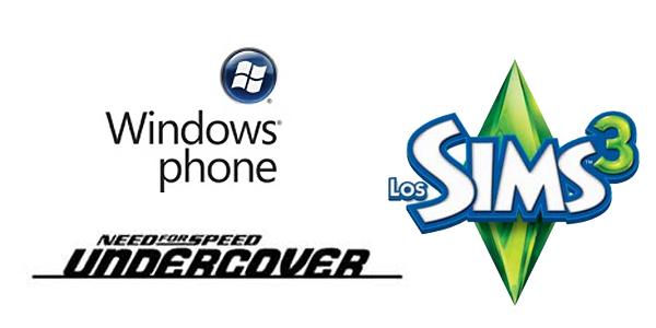 Los Sims y Need for Speed, muy pronto en Windows Phone 7