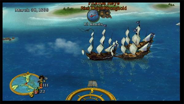 Pirates!, la aventura de piratas vuelve en la Wii