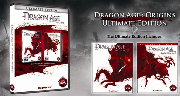 Dragon Age Ultimate Edition: Todos los contenidos extras en una sola edición