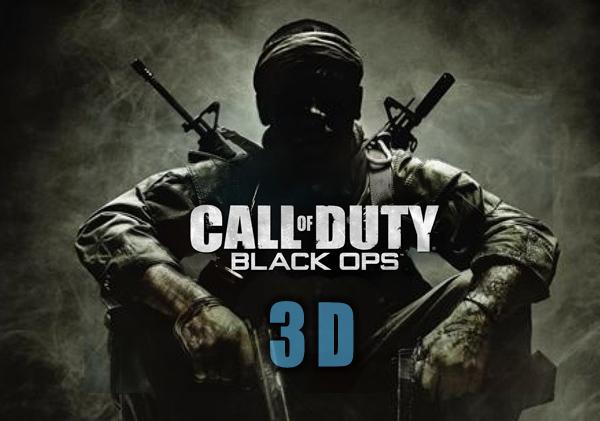 Call of Duty: Black Ops, en 3D para acercarlo aún más a la realidad