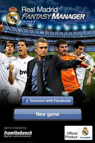 Real Madrid Fantasy Manager 2011, nuevo juego de gestión deportiva para Facebook y iPhone