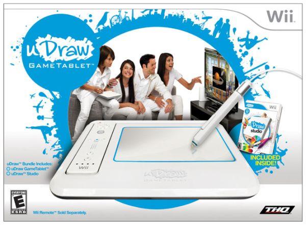 uDraw Game Tablet, periférico para dibujar de THQ
