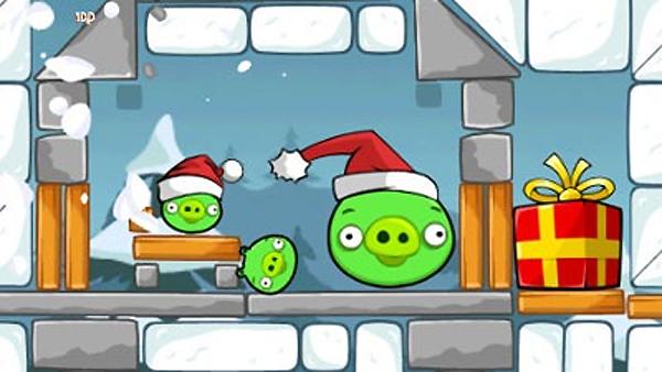 Angry Birds Christmas, su expansión navideña gratis para los que tengan la de Halloween