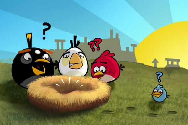Angry Birds, descargado 30 millones de veces