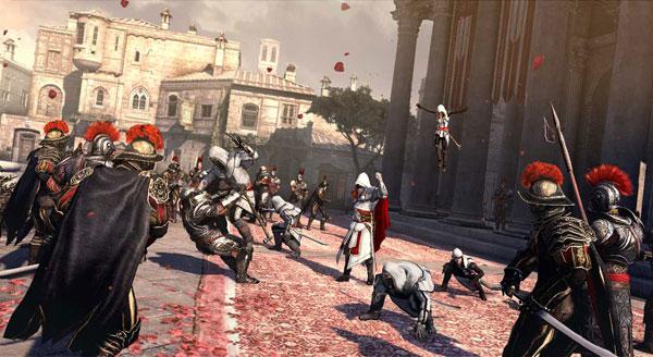 Assassin's Creed: La Hermandad, nos permitirá reconstruir la ciudad, ganando aliados