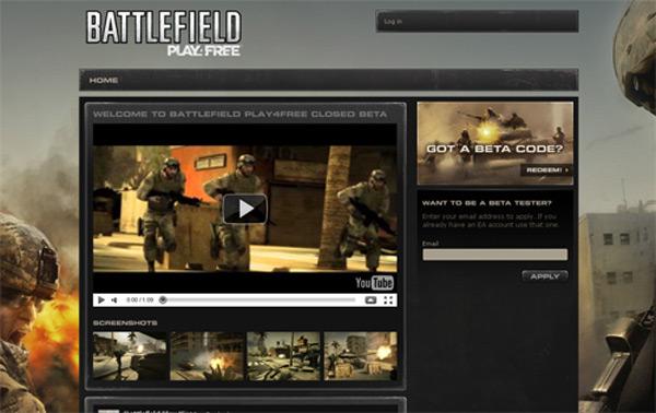 Battlefield Play4Free, abierta la web para descargar la Beta y jugar gratis