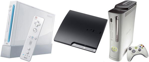 Wii, Xbox 360 y PlayStation 3, continúa su guerra por ser la consola más vendida