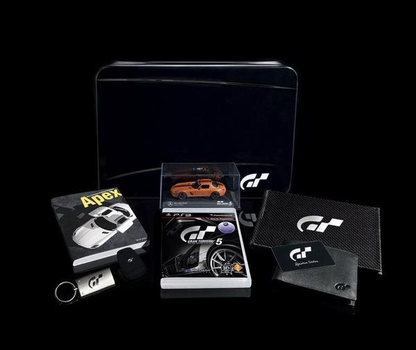 Gran Turismo 5, desvelada la edición de coleccionista del juego con todos sus detalles
