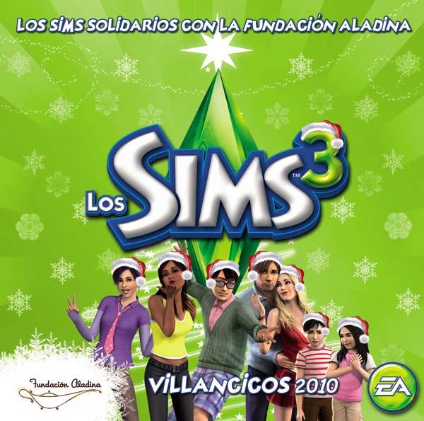 Los Sims 3, gratis un CD solidario con villancicos en Simlish, el idioma de los Sims