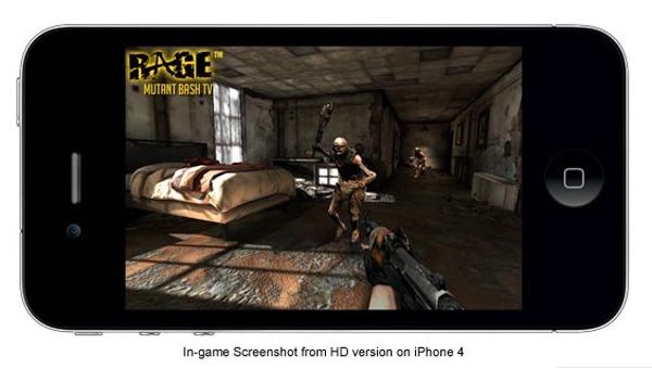 Rage, también saldrá en iPhone, iPod y iPad con Mutant Bash TV