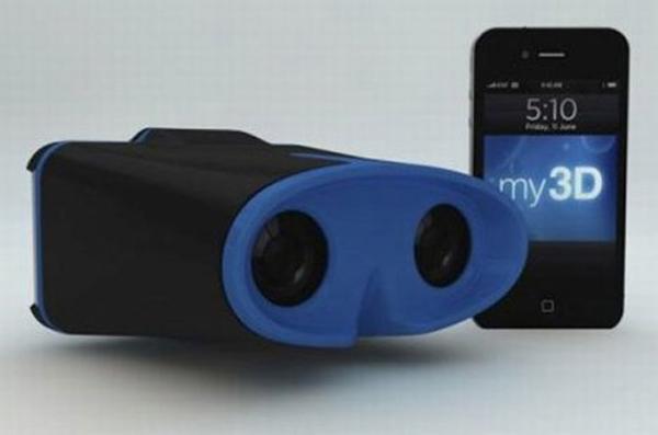 My3D, el periférico para ver en 3D estereoscópico en iPhone y iPod