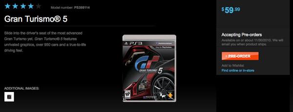 Gran Turismo 5, 30 de noviembre es la fecha provisional de lanzamiento