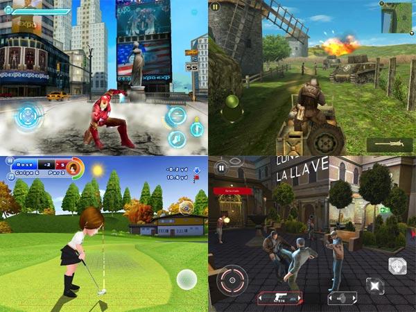 iPad, ocho juegos de Gameloft para iPad, a menos de un euro, durante toda la semana