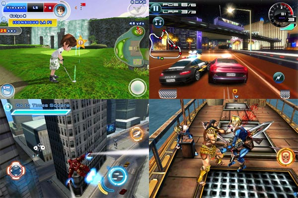 iPhone, nueve juegos de Gameloft para iPhone, a menos de un euro, durante toda la semana