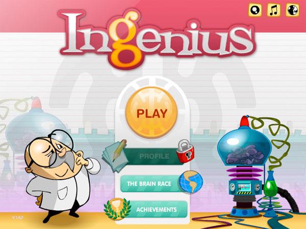 inGenius, un juego para entrenar nuestra mente, desde Facebook