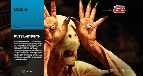 Mubi para la PS3, red social y videoclub para PlayStation 3 disponible la próxima semana