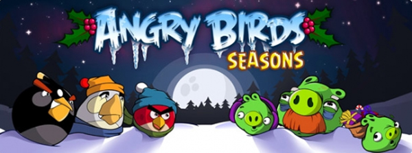 Angry Birds Seasons, gratis cada día un nuevo escenario