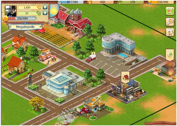 Big Business, una ciudad que construir y administrar en Facebook