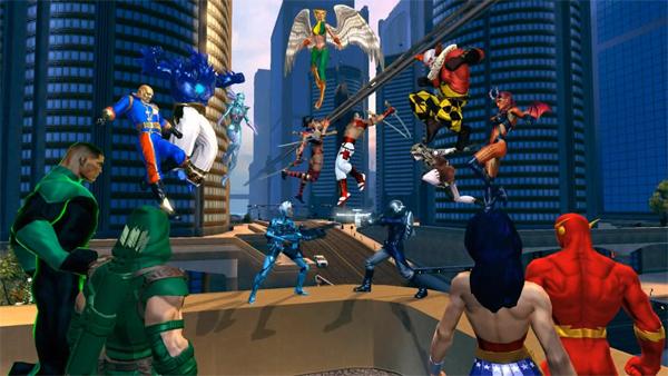 DC Universe Online, los héroes y villanos de DC lucharán a partir de enero