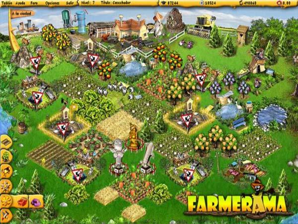 Farmerama Un Juego Al Estilo Farmville Que Esta Arrasando En