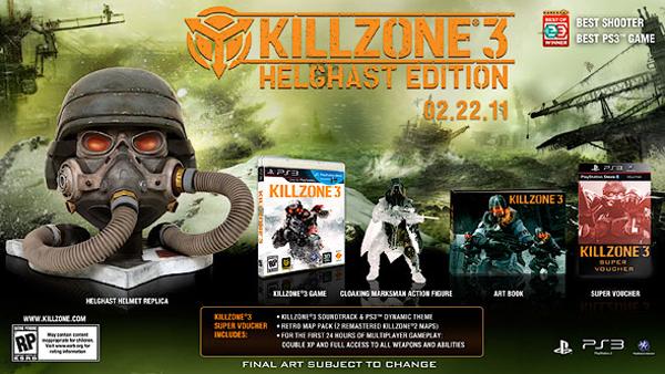 KillZone 3, anunciada su Hellgast Edition en Europa