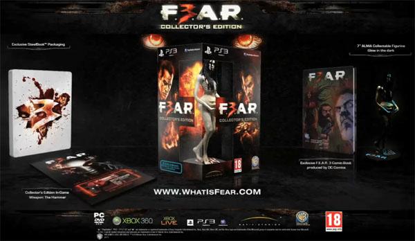 F.3.A.R., el juego de terror contará con una edición de coleccionista