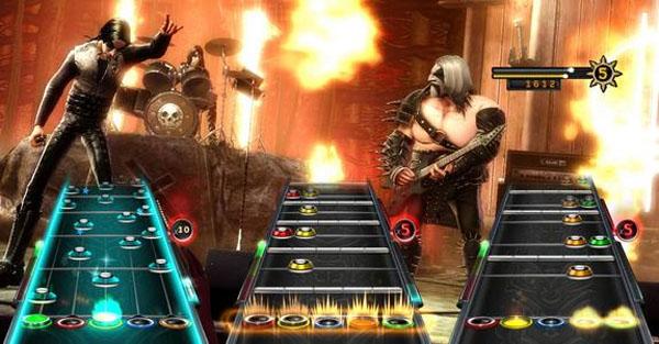 Guitar Hero Warrios of Rock, nuevo pack de diez canciones