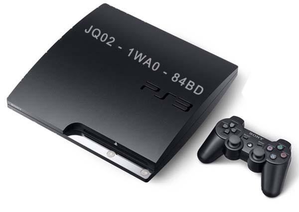 PlayStation 3, códigos de serie para evitar la piratería