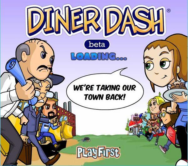 Diner Dash, llega a Facebook Diner Dash, juega gratis con este adictivo juego