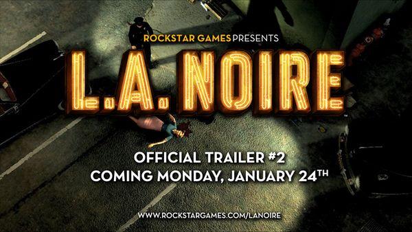 L.A. Noire, RockStar lanzará un nuevo trailer de este juego de acción el próximo lunes