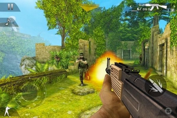 Modern Combat 2: Black Pegasus, juego de disparos para iPhone al estilo Modern Warfare 2