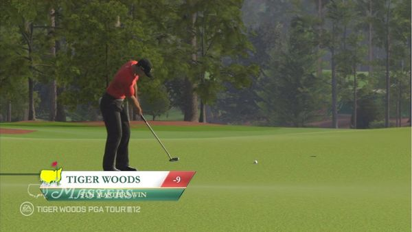 Tiger Woods PGA Tour 12: The Masters, la demo de este juego de golf disponible en abril