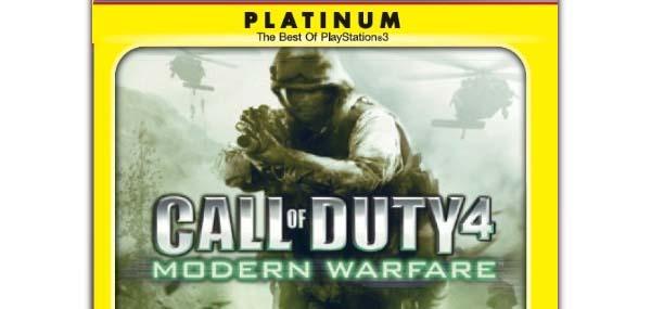 Call of Duty World at War y Modern Warfare 2, ambos con precio reducido