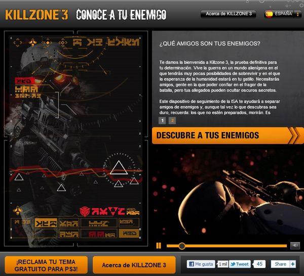 Killzone facebook