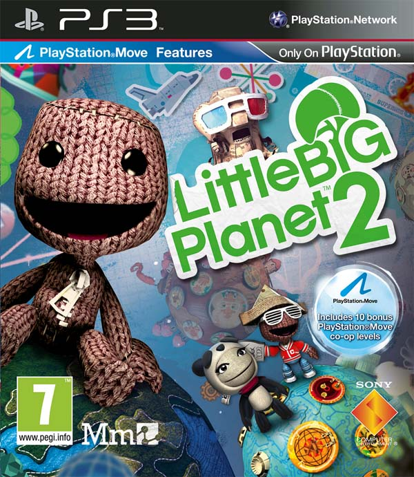Little Big Planet 2 Front