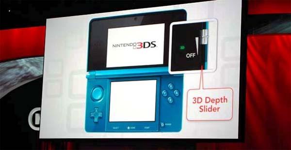 Nintendo 3DS, más avisos sobre la fatiga al usar el 3D estereoscópico activado