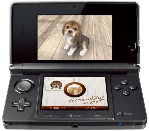 Nintendogs + Cats, mascotas virtuales de distintas razas de perros y gatos para la Nintendo 3DS