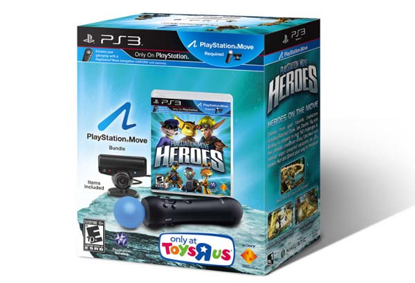 PlayStaion Move Heroes Pack